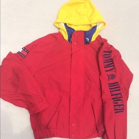 3a41e5c9 Tommy Hilfiger Jackets & Coats | Mens Vintage 90s Windbreaker | Poshmark